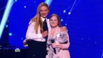 «Ты— сокровище!»: Настю, растрогавшую судей до слез, поддержала Татьяна Навка