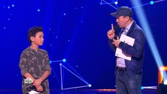 Юный Виталик потрясающе исполнил песню овойне иуслышал слова поддержки от Евгения Миронова