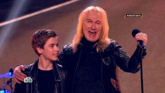 «Будь как Гагарин, лети вкосмос!»: юный рокер Юра поразил жюри илидера легендарной группы «Рондо»