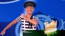 «Энергии втебе море!»: Кирилл восхитил жюри ярким изажигательным танцем моряка