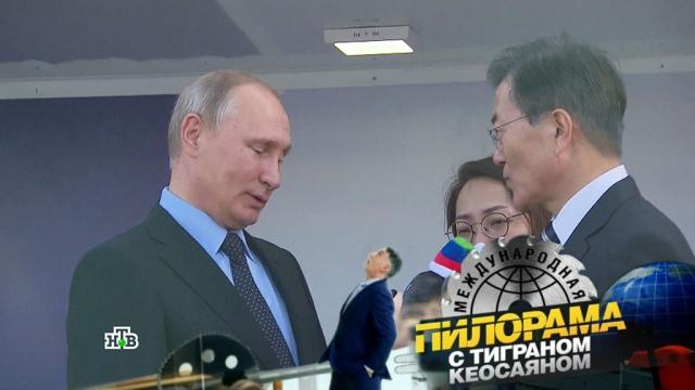 «Увидел Путина— перестань жевать собаку»: русско-корейская шифровка иглавные приметы Восточно-экономического форума.НТВ.Ru: новости, видео, программы телеканала НТВ