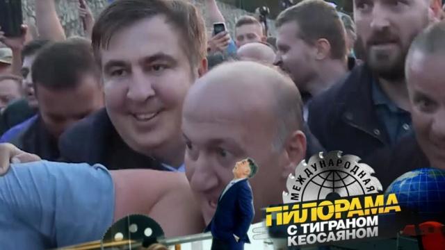 Сбежать из дурдома ивернуться обратно: невероятные приключения Михаила Саакашвили.НТВ.Ru: новости, видео, программы телеканала НТВ
