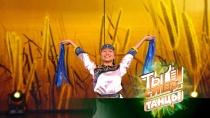 «Твой танец— ветер исвобода!»: жюри было ввосторге от Алёны иее нанайского народного танца