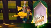 Браво, ребята! Зал стоя аплодировал яркому национальному танцу Радхи иАмиля из Казахстана