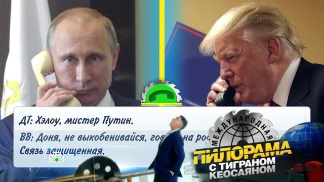 «Служба психологической помощи президента Российской Федерации»: что Трамп узнал уПутина про выборы?НТВ.Ru: новости, видео, программы телеканала НТВ