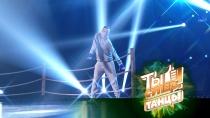 Супербрейк на ринге, ижюри внокауте: Дмитрий вобразе Рокки разбил руки вкровь иполучил 4зеленые кнопки