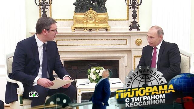 Партзадание Дмитрия Рогозина, подводная такса идругие подробности визита президента Сербии вМоскву.НТВ.Ru: новости, видео, программы телеканала НТВ