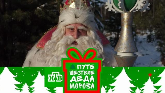 Большое «Путешествие Деда Мороза» сНТВ— 8января в10:20.НТВ.Ru: новости, видео, программы телеканала НТВ