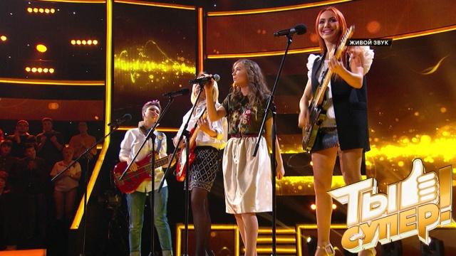 Очаровательная Алина очень нежно спела песню «Лицея», аНастя Макаревич позвала ее всвою группу