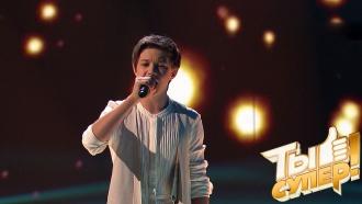 Витя вновь ошеломил судей выбором сложной композиции ипроникновенным вокалом