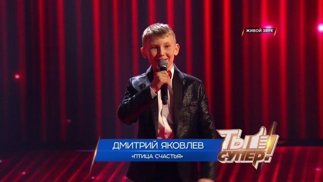 «Ты супер!»: Дмитрий Яковлев, 12лет, Томская область. «Птица счастья»