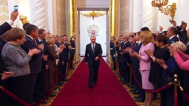 Прямая трансляция.Торжественная церемония вступления вдолжность президента РФ.НТВ.Ru: новости, видео, программы телеканала НТВ