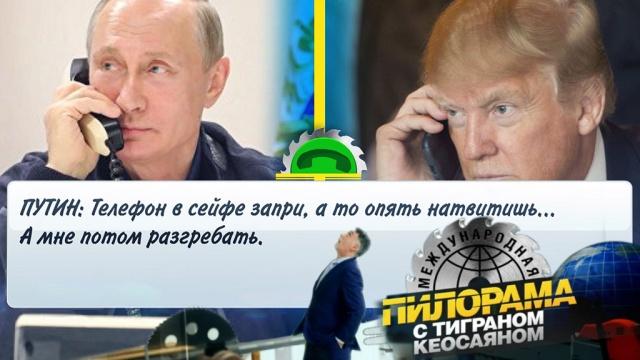 Чембы дитя не тешилось, лишьбы не «Твиттером»: зачем Трамп стал спешно звонить вКремль после инаугурации Путина?НТВ.Ru: новости, видео, программы телеканала НТВ