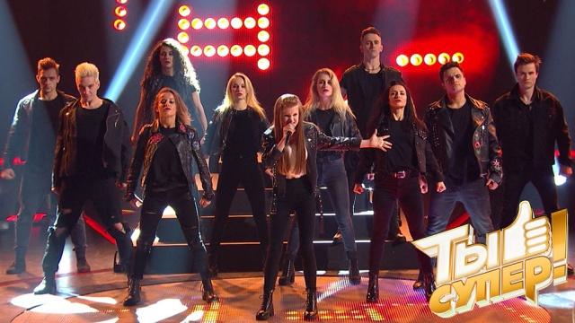 Универсальная артистка! Саша феерично исполнила хит Queen, несмотря на свой юный возраст