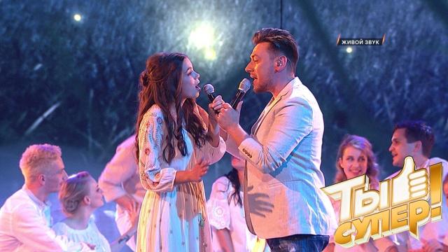 Идеальный белорусский дуэт! Вера Ярошик иРуслан Алехно очаровали зрителей бесподобным номером