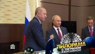 Томатное послевкусие Эрдогана, сказочные сны Пескова иженский форум: рабочая поездка Владимира Путина