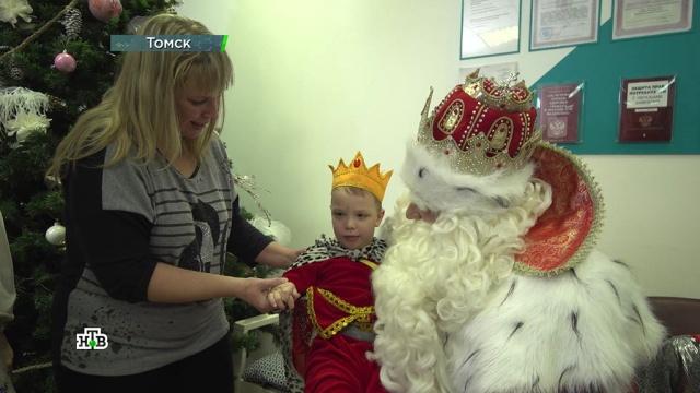 Дед Мороз привез вморозный Томск подарки иновогоднее настроение.НТВ.Ru: новости, видео, программы телеканала НТВ