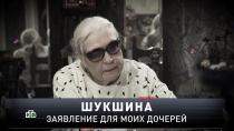 «Новые русские сенсации»: «Шукшина. Заявление для моих дочерей»