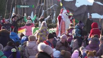 Мир чудес исюрпризы для каждого: сказочный вояж Деда Мороза продолжился встолице Удмуртии