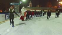 Второй день вТуле: Дед Мороз побывал на новогоднем капустнике иустроил танцевальный баттл.НТВ.Ru: новости, видео, программы телеканала НТВ
