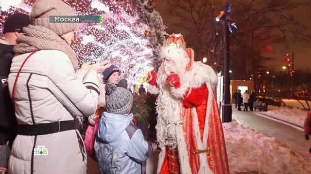 ВТулу— со своим самоваром иподарками! Дед Мороз исполнил мечты юной гимнастки имногодетной семьи.НТВ.Ru: новости, видео, программы телеканала НТВ