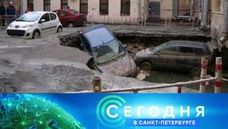 «Сегодня в<nobr>Санкт-Петербурге»</nobr>. 23января 2019года. 19:20