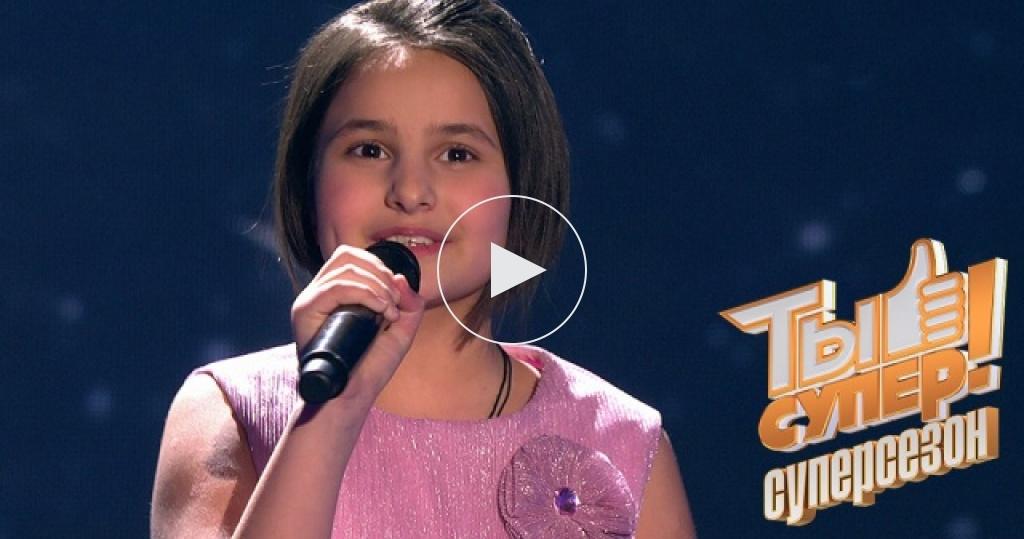 Обаятельная Текла из Грузии покорила жюри талантом, улыбкой ипесней встиле Нино Катамадзе