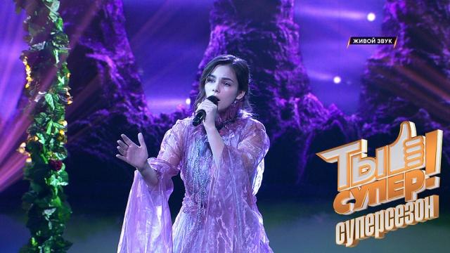 Вадим Такменёв запел на сцене проекта «Ты супер!».НТВ.Ru: новости, видео, программы телеканала НТВ
