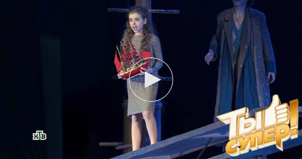 Закулисье ине только: артисты проекта «Ты супер!» попали на знаменитый мюзикл «Алые паруса»