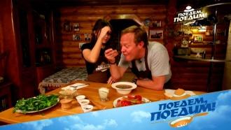 Осетинский фасолевый суп «Кадур» исоус «Цахтон»