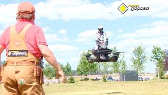 Scorpion 3: первый вмире летающий мотоцикл