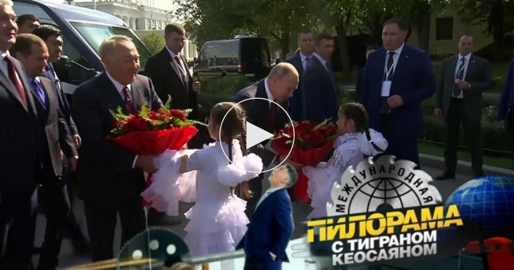 Как Владимир Путин за неделю укрепил дружбу сКазахстаном, договорился сМолдавией ине поторговался сИзраилем