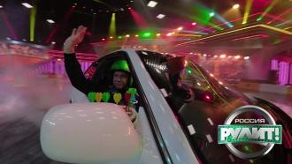 «Дартс Вейдер. Русская версия»: попытка лопнуть шарики за две минуты, управляя автомобилем одной рукой