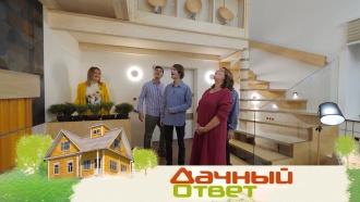 Гостиная вазиатском стиле для дома, построенного по японскому проекту,— ввоскресенье в«Дачном ответе»