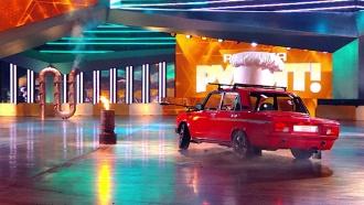 Настоящее <nobr>файер-шоу</nobr> согненным дрифтом— вновом выпуске «Россия рулит!» на НТВ