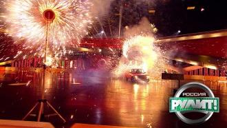 Ростовчанка за рулем зажгла пиротехнический фонтан за считаные мгновения!