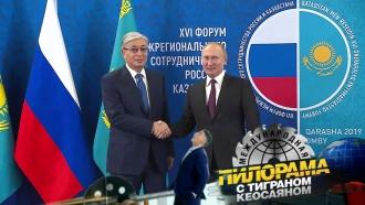 Как Путин крепил мощь русского языка, дружил сказахами ивспоминал молодость
