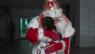 Дед Мороз иНТВ начали большое праздничное путешествие сКрасноярска