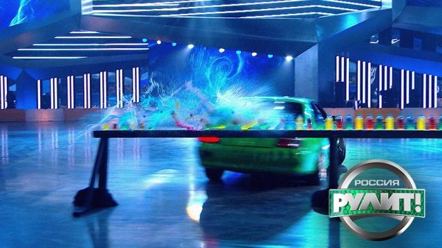 Водители должны поймать баланс на качелях спротивовесом.НТВ.Ru: новости, видео, программы телеканала НТВ