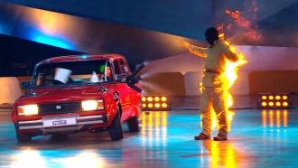 «Россия рулит!»— зажигательный полуфинал— на НТВ