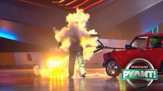 Пожарный дрифт: кому удалось справиться согнем на все сто?