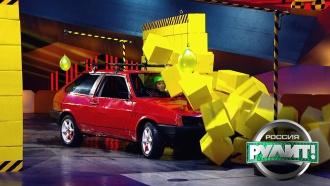 Прыжок, парковка иострый финиш: судьи выбрали самого точного водителя