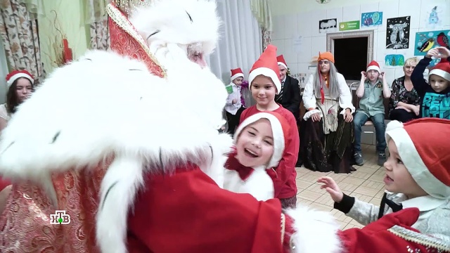 Маршрут добра ичудес: второй день путешествия Деда Мороза вТомске.НТВ.Ru: новости, видео, программы телеканала НТВ