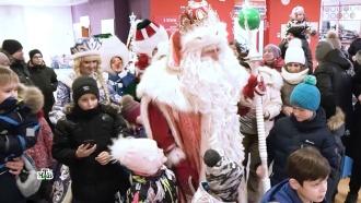 Чудесные встречи ипраздник для всех: Дед Мороз иего второй день путешествия вЕкатеринбурге
