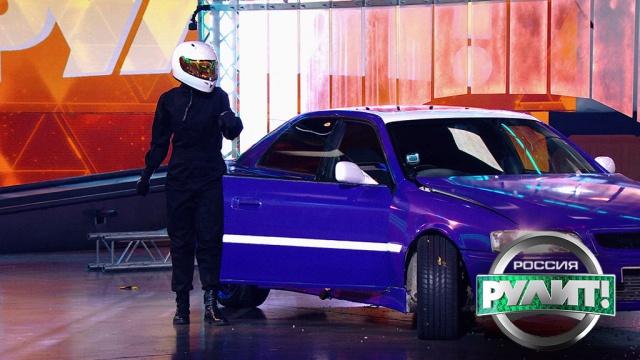 Новый поворот: ведущая Полина Максимова впервые выполняет трюк вдрифте.автомобили.НТВ.Ru: новости, видео, программы телеканала НТВ