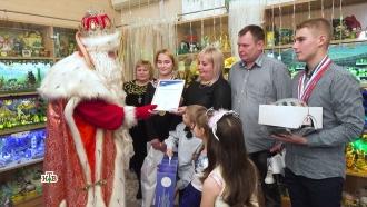 Дед Мороз иАлександр Колтовой устроили праздник жителям Самары