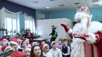 Волшебный караван Деда Мороза иНТВ приехал вНижний Новгород