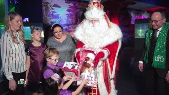 Волшебная команда Деда Мороза иНТВ добралась до Краснодара