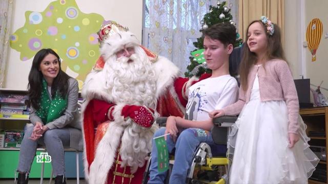 Сюрпризы для детей ипраздник для каждого: Дед Мороз приехал встоличный регион.НТВ.Ru: новости, видео, программы телеканала НТВ