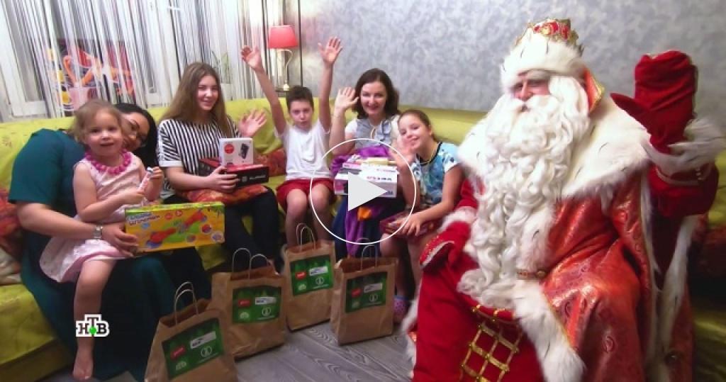 Сюрпризы для детей ипраздник для каждого: Дед Мороз приехал встоличный регион